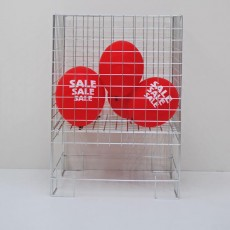 Zinc Dump Basket
