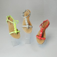 Acrylic Shoe Stand Set of 3