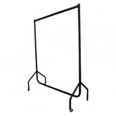 Superior Clothes Rails (black)