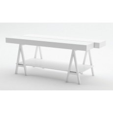 White Fashion Display Table