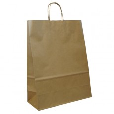 Brown Paper Carrier Bags For Clothes