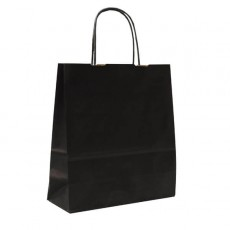 Black Paper Gift Bags With Handles
