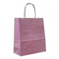 Pink Paper Gift Bags With Handles