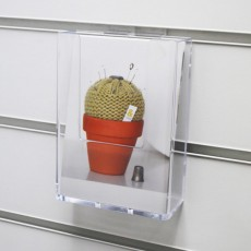 1/3 A4 Leaflet Holder for Slatwall