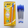 Blue Bic Ball Point Pens - Pack 50