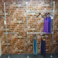 Bronx Wall Mounted Clothing Display Unit