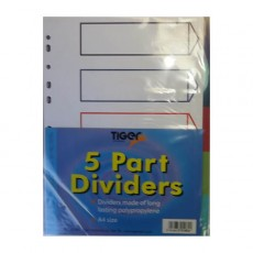 5 Part Dividers