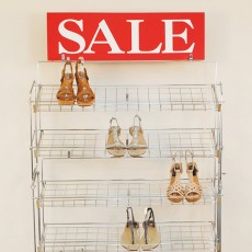 Two Tier Extension for chrome finish shoe rack