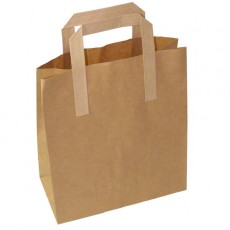 Medium Carrier Bag (brown)
