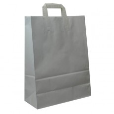 Large Fashion Carrier Bag (white)