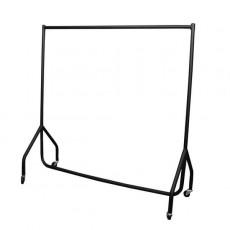 Flat Pack Clothes Rail (black)