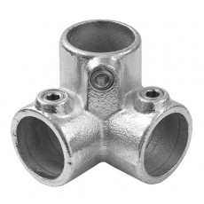 three way 3D urban tubing joint
