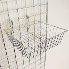 Small Grid Basket - Shallow