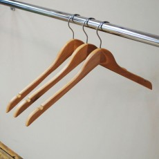 Wooden Hangers Without Bar