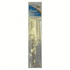 """Ruler 15cm - 6"""""""