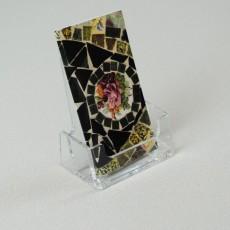 Acrylic desktop business card holder