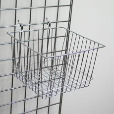 Square Grid Basket - Deep