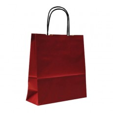 Red Paper Gift Bags With Handles