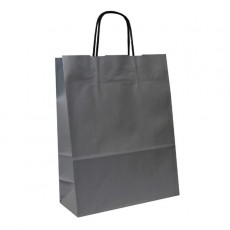 Small Carrier Bag (silver)