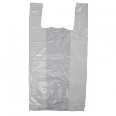 White Vest Carrier Bag