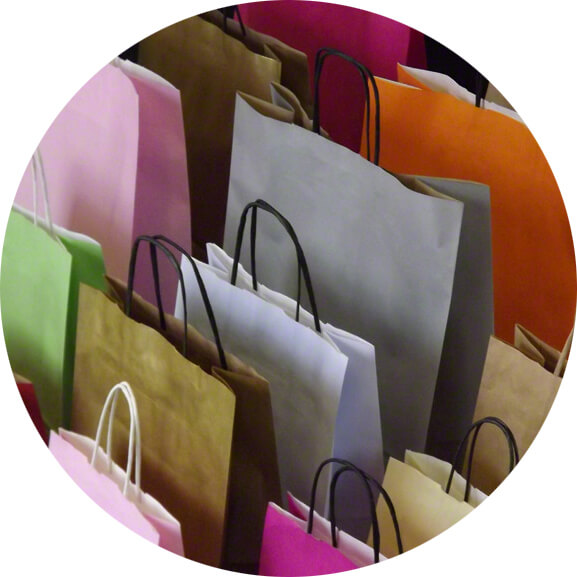 Twist Handle Carrier Bags
